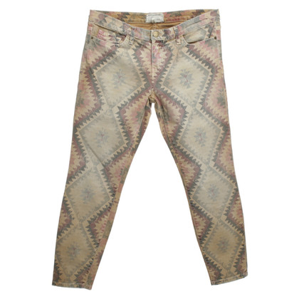Current Elliott Jeans with patterns