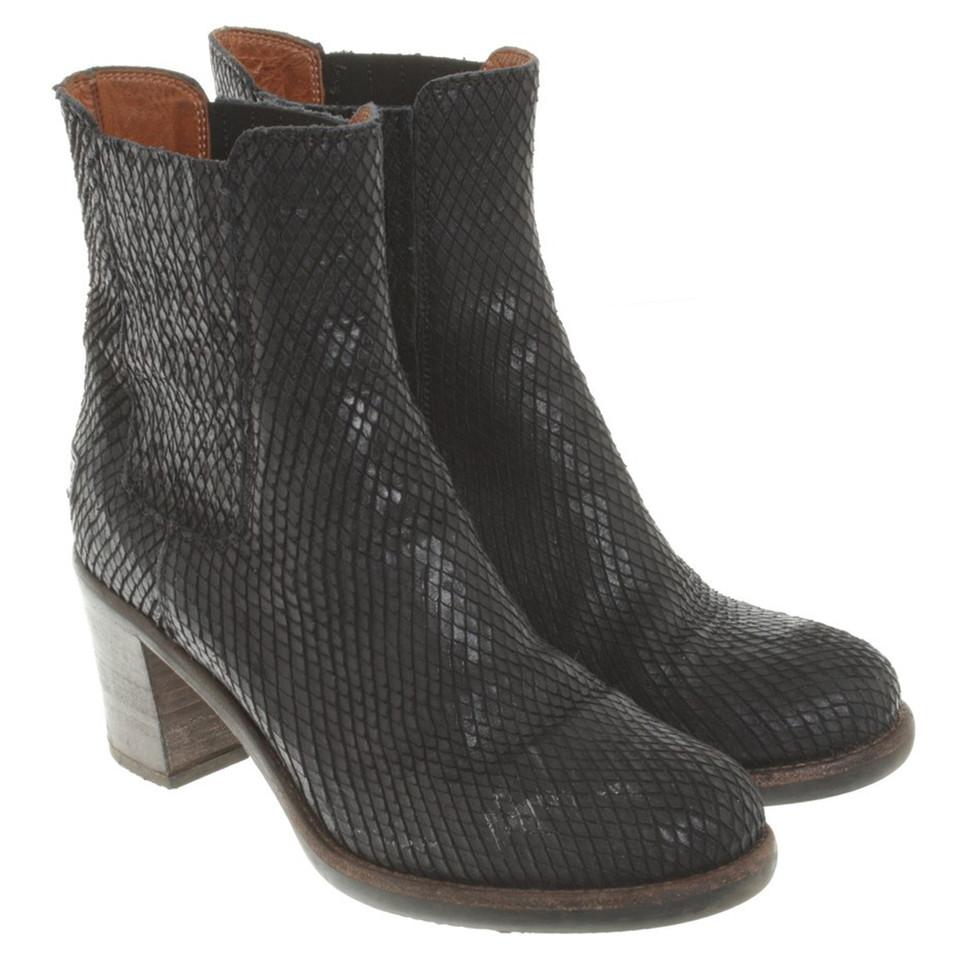 shabbies amsterdam boots in zwart koop tweedehands. Black Bedroom Furniture Sets. Home Design Ideas