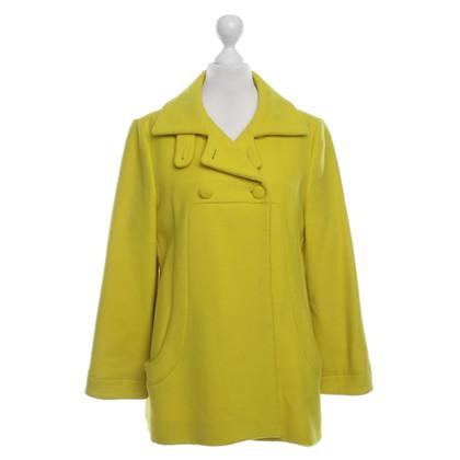 Marni Jacke in Gelb
