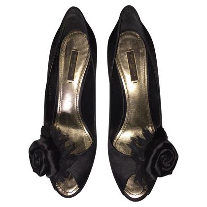 Louis Vuitton Peep-dita dei piedi in nero