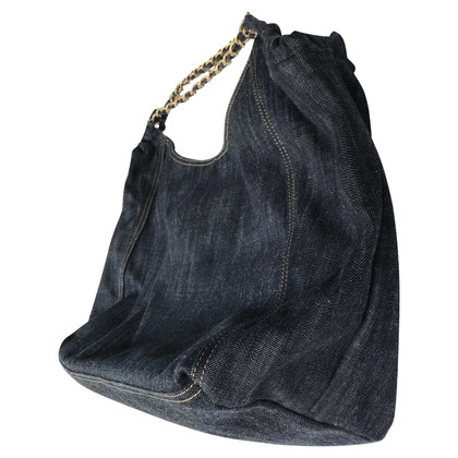 Chanel MAXI COCO CABAS IN DENIM AS NEW