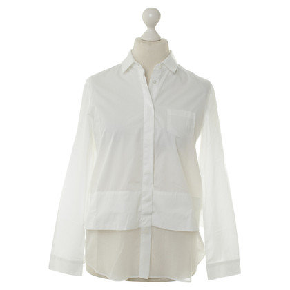 Max Mara White blouse in the layered look