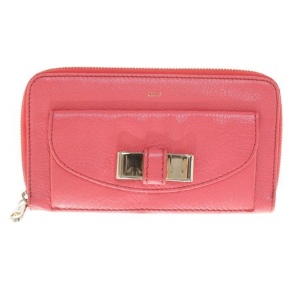 Chloé Wallet in coral