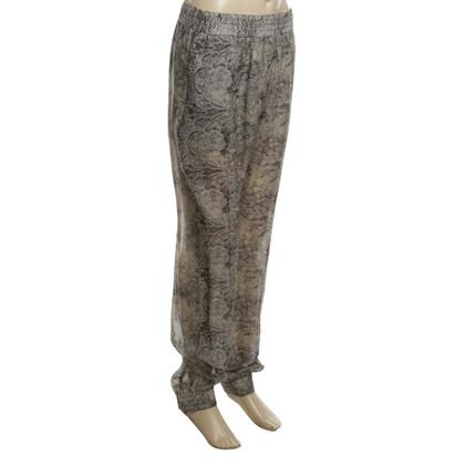 Joseph Silk pants floral print
