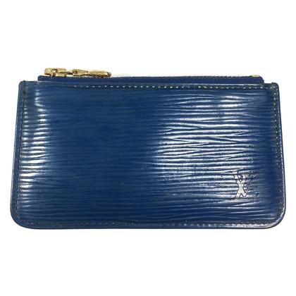 Louis Vuitton key holder in Epi leather