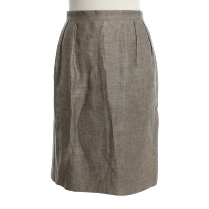 Christian Dior skirt with twill