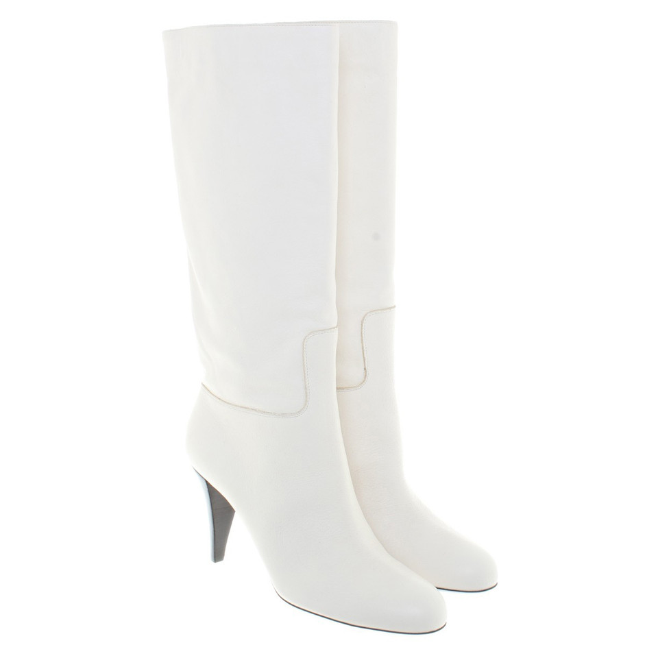 Bally Boots in Off-White