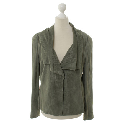 Rena Lange Leather jacket in green