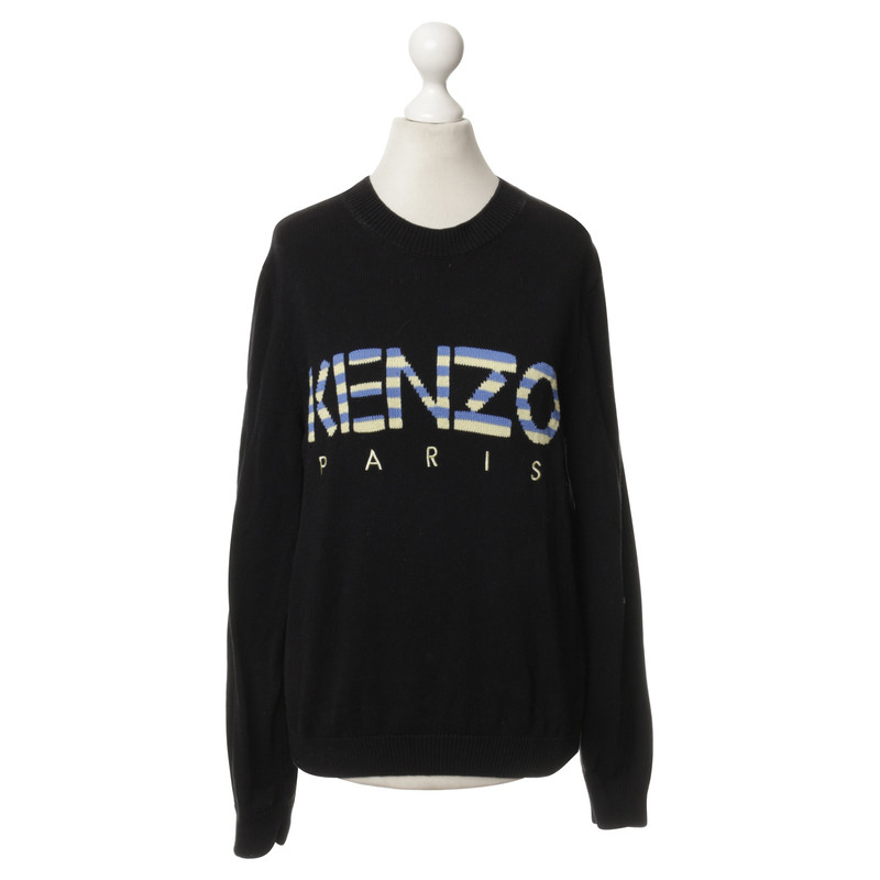Kenzo Knit sweater with embroidered logo