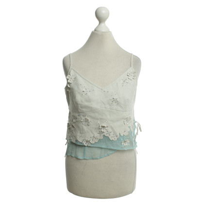 Karen Millen Summer top with floral application