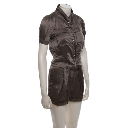 Ferre Short jumpsuit in brown