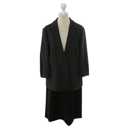 Max Mara Two-coloured costume in grey/black