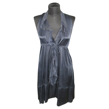 Lorna Bosè Silk dress in dark blue