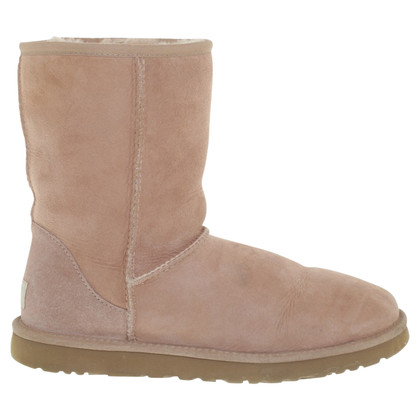 UGG Australia Suede boots in blush pink