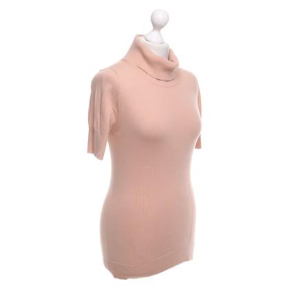 Ermanno Scervino Kurzarm-Pullover in Nude