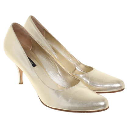 Marina Rinaldi Color oro pumps