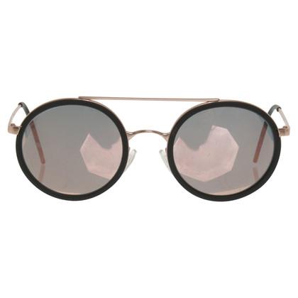 Armani Sonnenbrille in Roségoldfarben