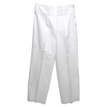 Yves Saint Laurent Broek in White