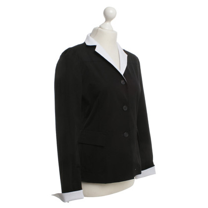 Jil Sander Blazer in black / white