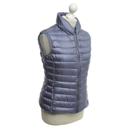 Max Mara Quilted vest in blue