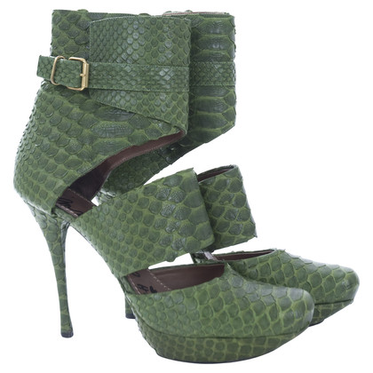 Lanvin Plateau ankle boots