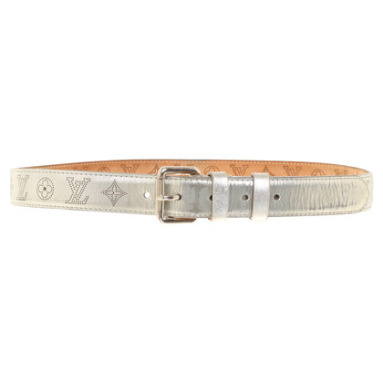 Louis Vuitton Silver colored belt