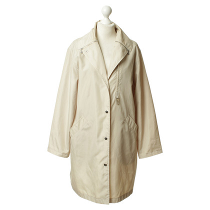 Bogner Maxi coat in cream colours