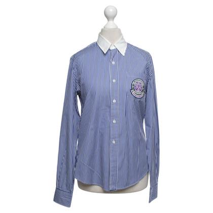 Ralph Lauren Shirt in Blauw / Wit
