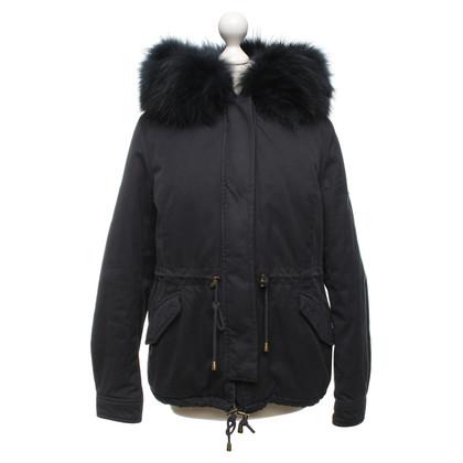 Andere Marke Alessandra Chamonix - Jacke mit Pelzbesatz