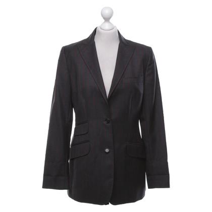 Dolce & Gabbana Giacca in grigio scuro / rosso