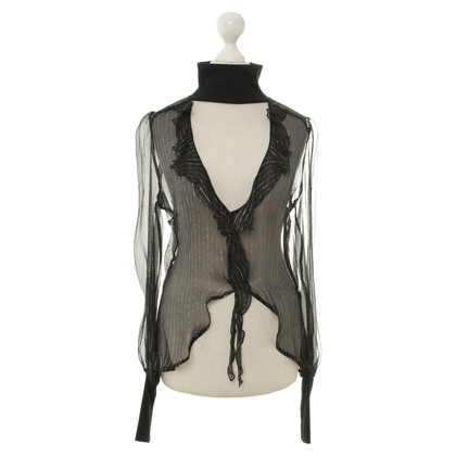 Costume National top silk