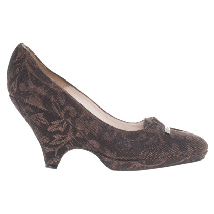 Giorgio Armani pumps with floral print