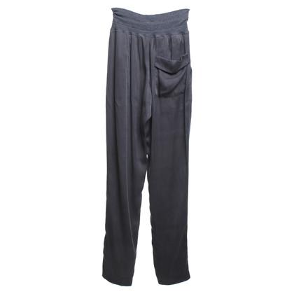 Gunex Pantalon en soie en gris