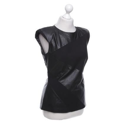 Elisabetta Franchi Top in zwart