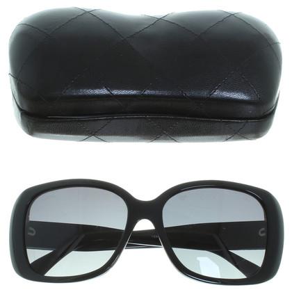 Chanel zwart zonnebril