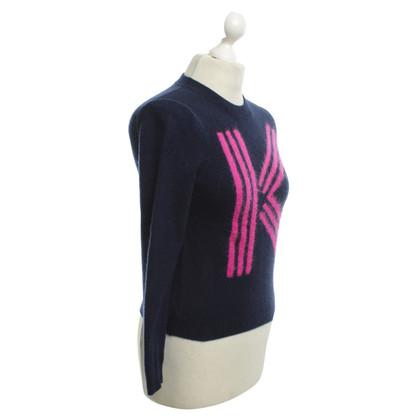 Kenzo maglione maglia in blu