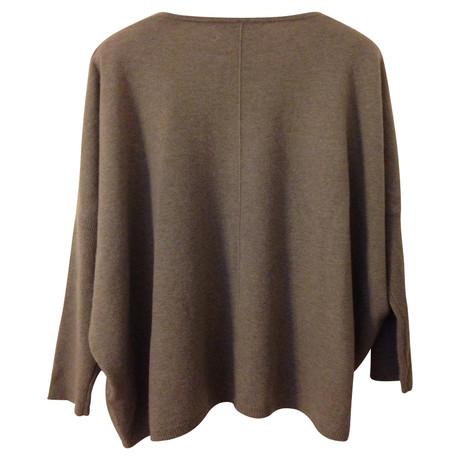 Allude Sweater Kaschmir Kaschmir Sweater Allude Taupe axdnqf