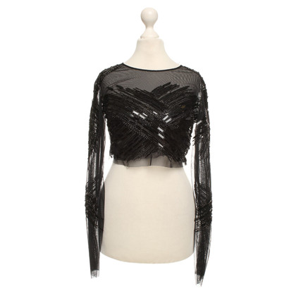 Elisabetta Franchi top with sequins