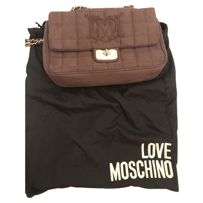 Moschino Love Schoudertas in paars