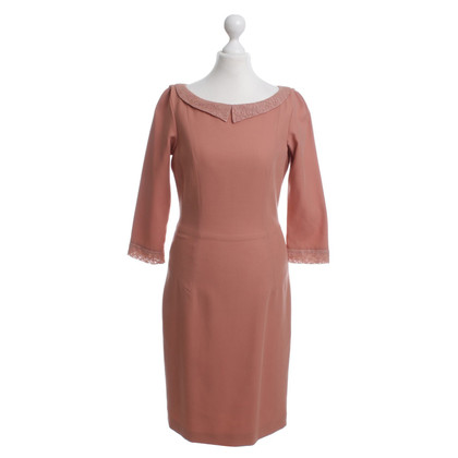 L'Wren Scott Kleid in Apricot