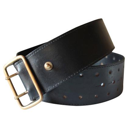 Alaïa Black leather belt
