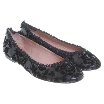 Red Valentino Ballerinas in black