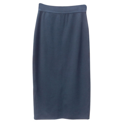 Yves Saint Laurent Zwarte wollen rok