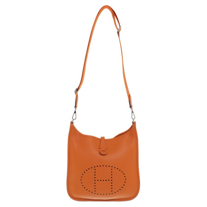 """Hermès """"Evelyne"""" in orange"""