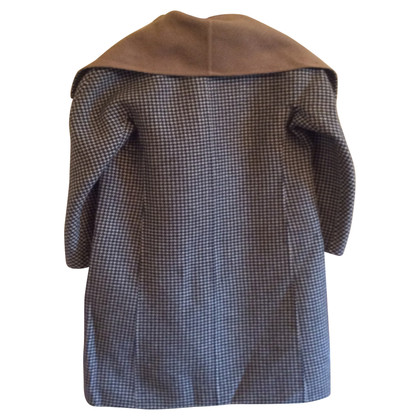 Max Mara Houndstooth Coat
