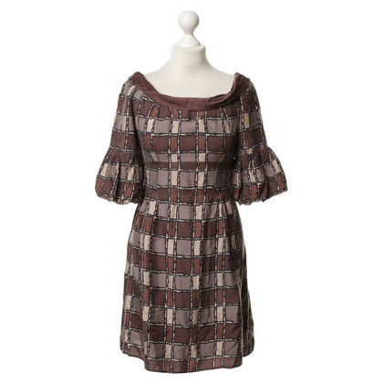 Nanette Lepore Silk dress with pattern