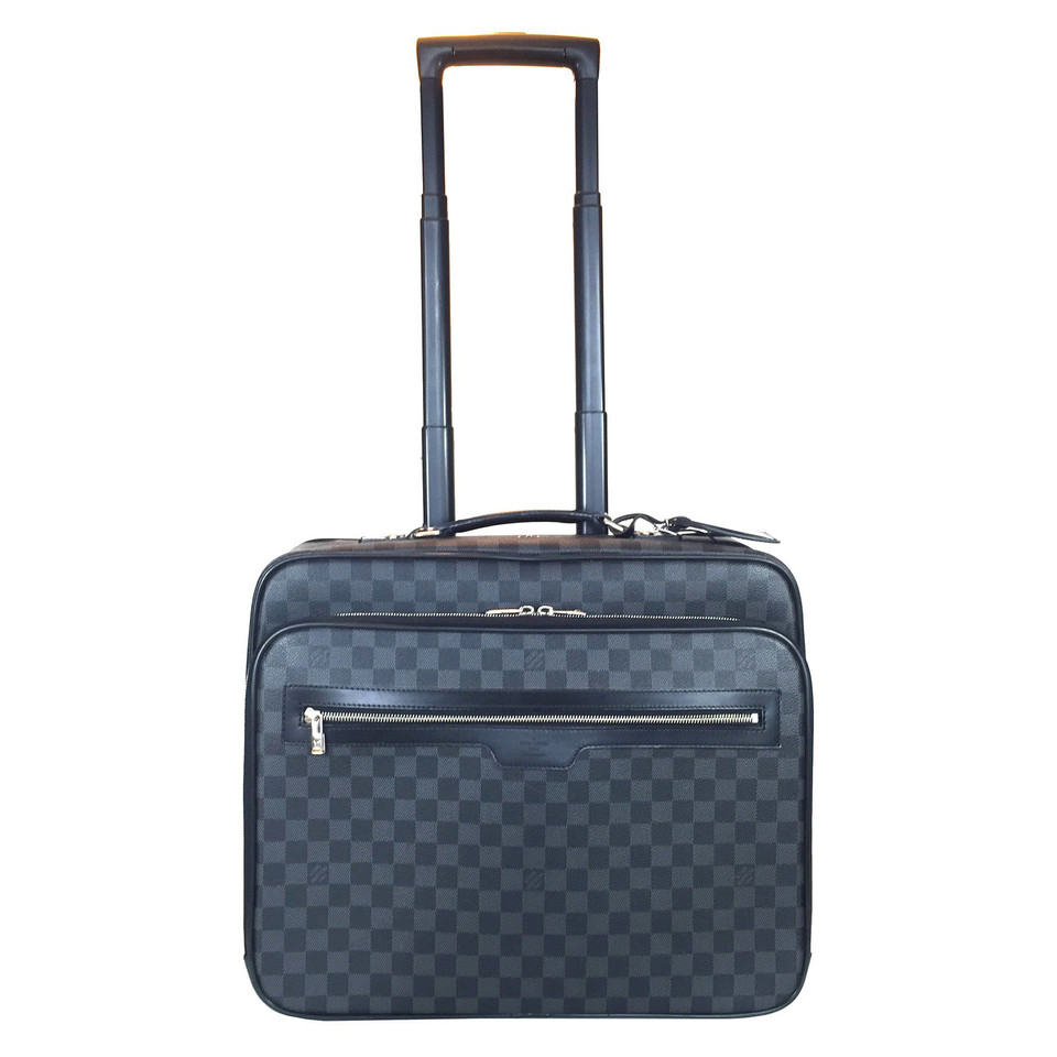 louis vuitton trolley from damier graphite canvas buy second hand louis vuitton trolley from. Black Bedroom Furniture Sets. Home Design Ideas