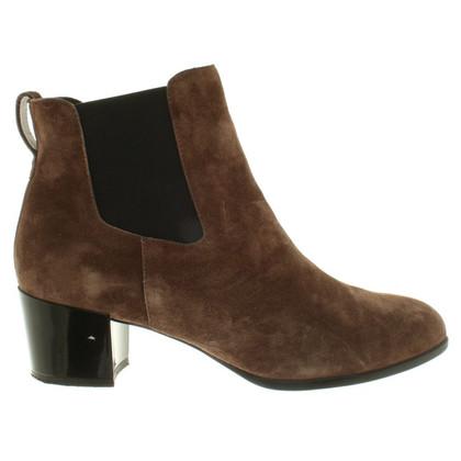 Hogan Boots aus Wildleder