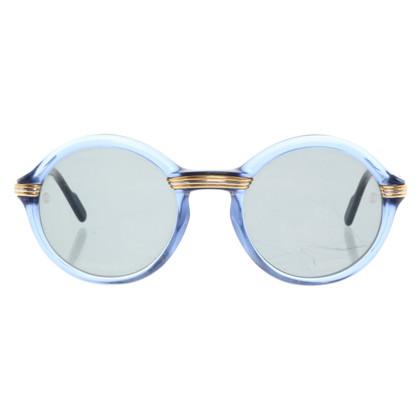 """Cartier """"Cabriolet"""" zonnebrillen met logo-applicatie"""