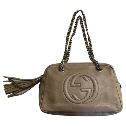 Gucci Borsa in pelle Soho